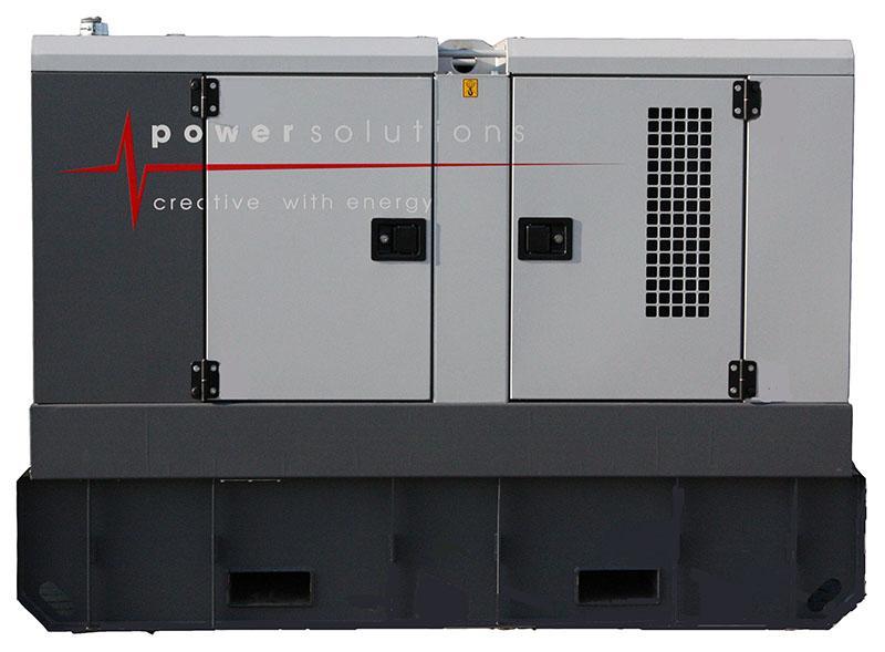 Generator 33 kVA - Technische Fiche - Generator 33 kVA