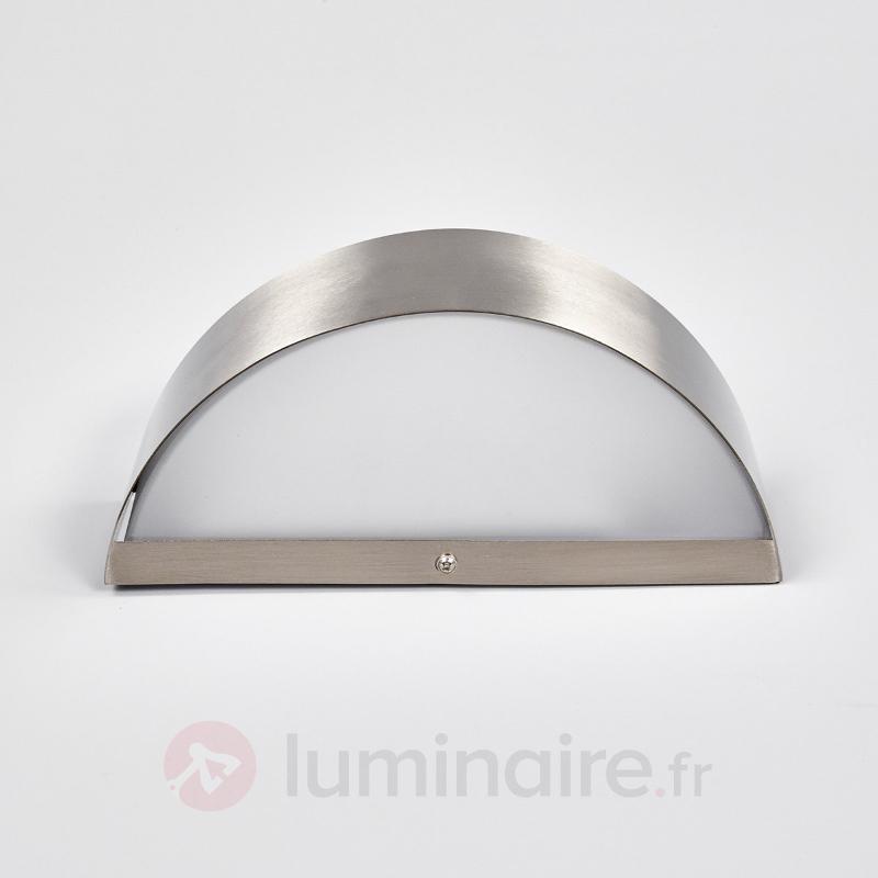 Applique extérieure en inox Nadia LED - Appliques d'extérieur LED