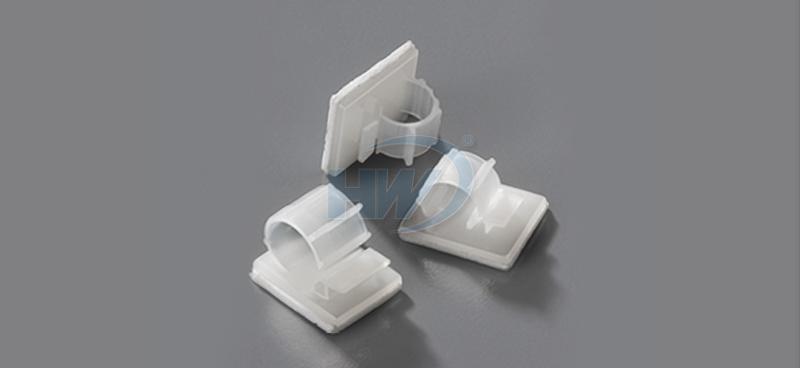 Cable Clamps - Self Adhesive,PPolyamide,12mm Max. Bundle Dia.