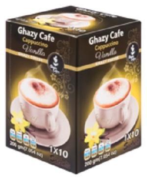 Ghazy Coffee Cappuccino Vanilla - Ghazy Coffee Cappuccino Vanilla