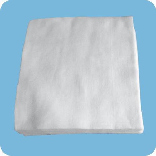 Tranches de gaze -  Gaze écrémé médical 100% coton, après décoloration, séchage haute température.