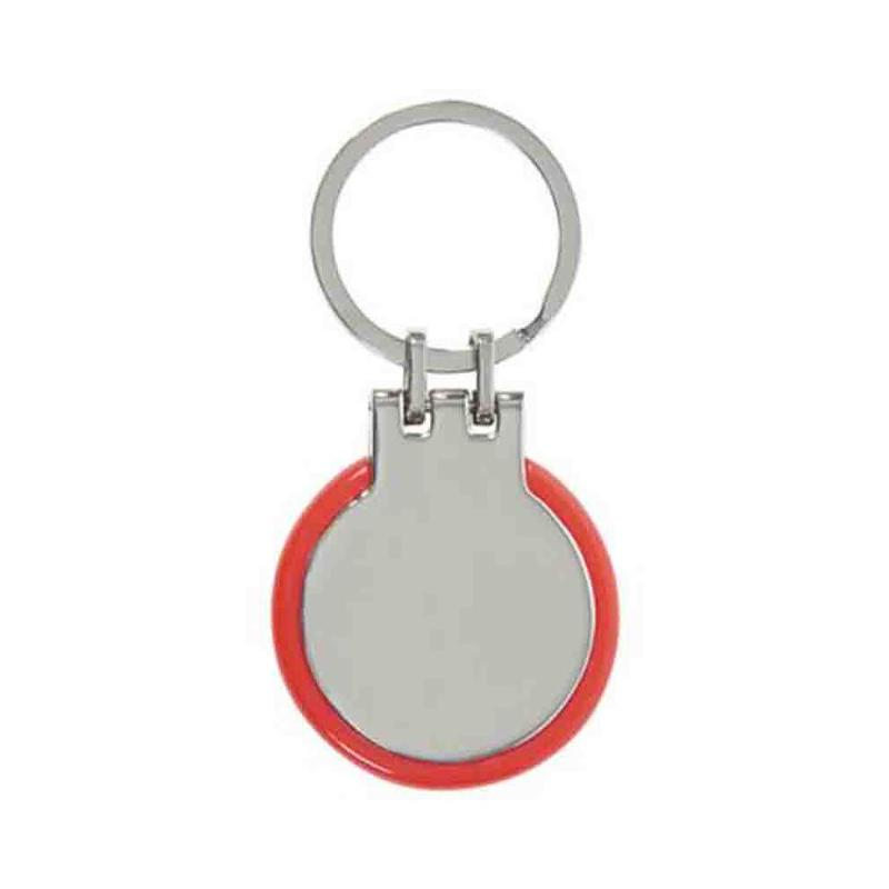 Porte-clés carte bleu - Porte-clés métal