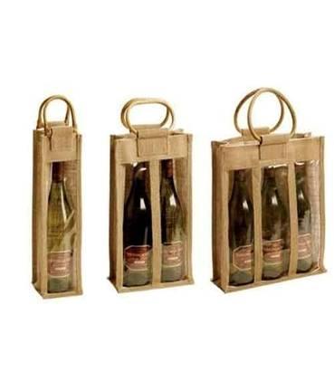sac de vin de jute - sac de vin de jute, sac de vin de jute imprimé