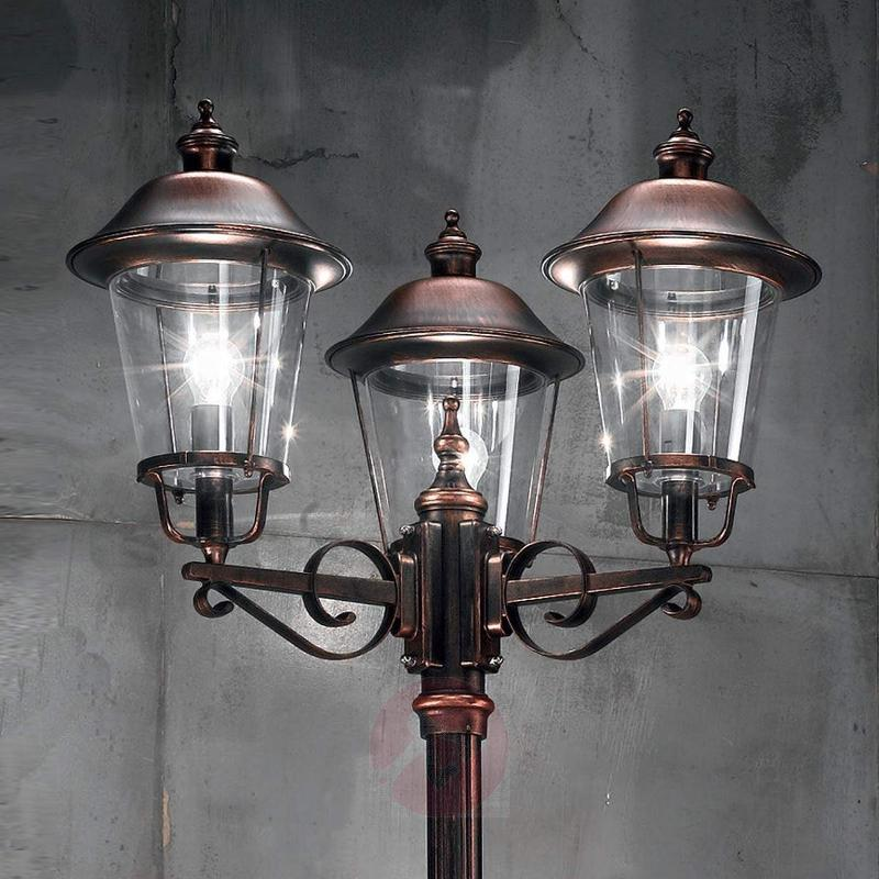 Mariella Post Light with Antique Charm - Pole Lights