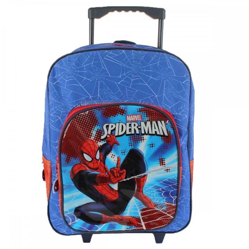 3x Trolleys Spiderman 41 cm - Sac et Sac à dos