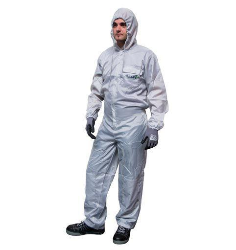 polyester spray overall - null