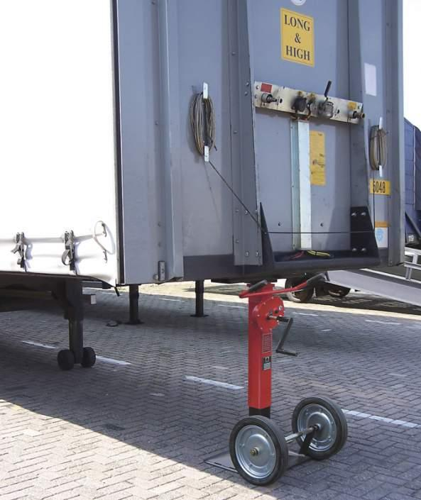 Unterstellwinde 15 Tonnen - Unterstellwinde für Be- u. Entladen von Sattelauflieger. Belastbarkeit 15 t