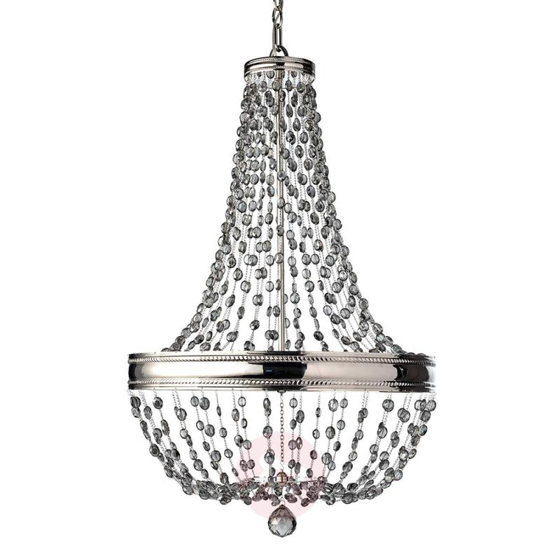 Malia crystal glass chandelier - design-hotel-lighting