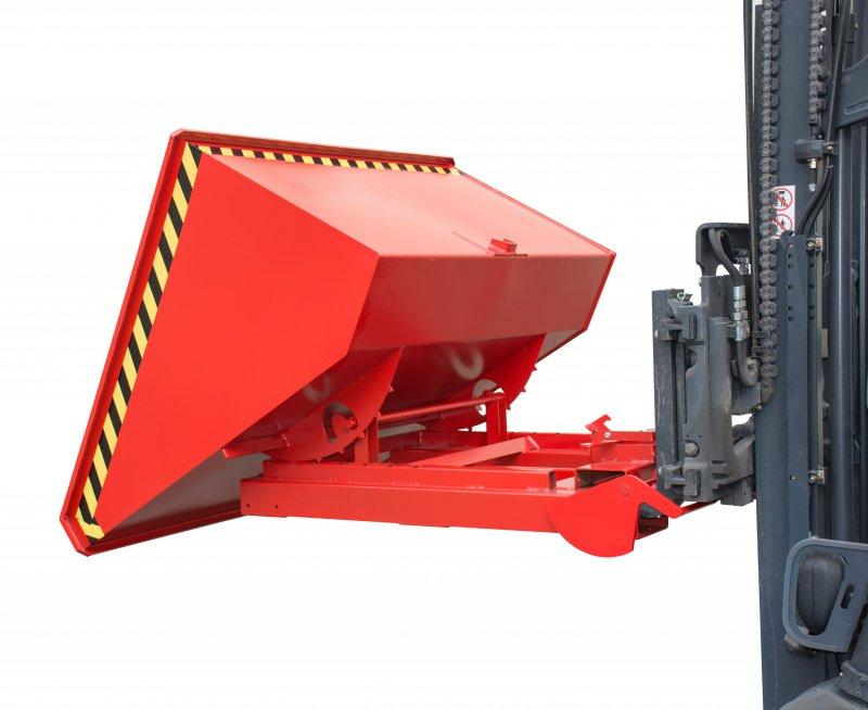 AUTOMATIC TILTING CONTAINER TYPE 4A - The first roll forward Tilting Container with 4 automatic features!