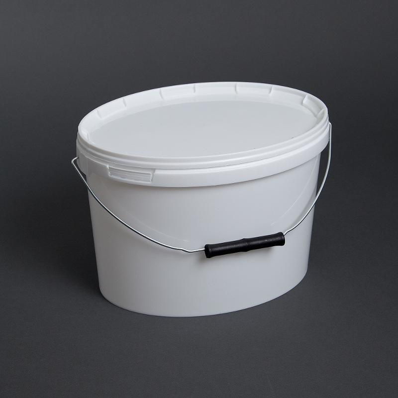 Kunststoffeimer oval, 5 Liter - Artikelnummer 526000005000