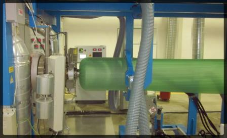 EXTRUSION LINE for PE & PP FOAM production -