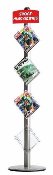 Brochure Sets - Porte Brochures sur pied