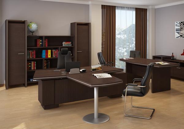 Кабинет директора Идеал премиум класса - Купить мебель для руководителя со склада в Киеве