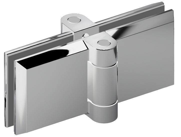 Serie B-Fold shower hinge - 360° opening hinge