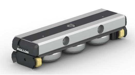 Compact Rail - Linear rails with high precision ball bearing roller slider