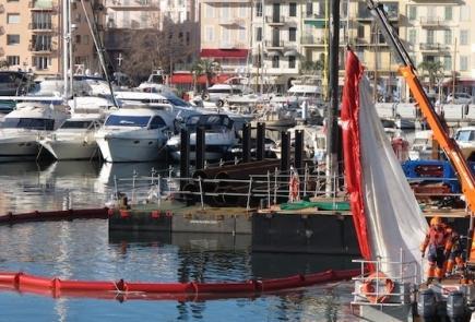 Barrage Pour Travaux Maritimes 10-250-500 - BARC BTM10250500-Barrage filtrant MES anti pollution