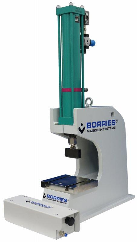 Pneumo-hydraulic marking machines - suitable for applications that need big marking forces