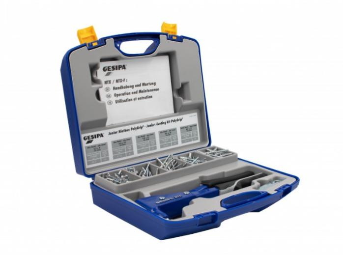 Junior riveting kit (Blind rivet hand tools) - Riveting Kit