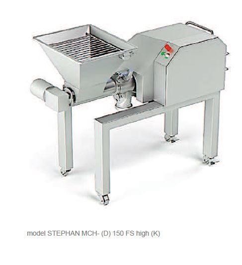 Affineur émulsionneur homogénéisateur broyeur - STEPHAN Microcut MCHK