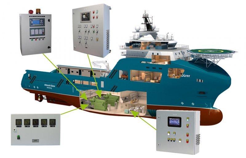 pannello di comando e controllo per nave - pannello di comando e controllo per nave
