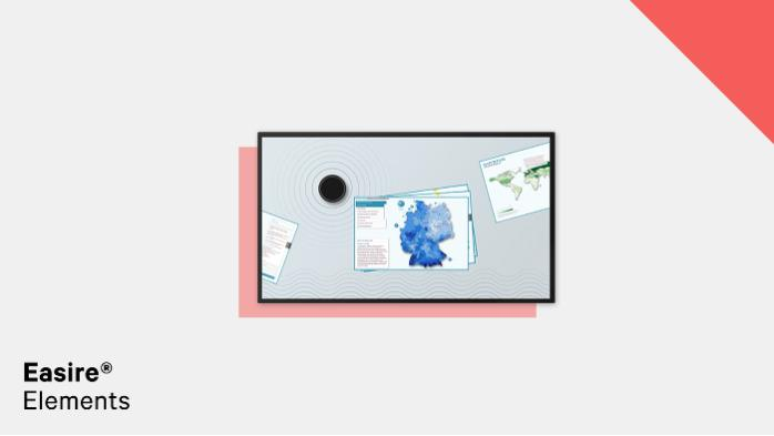 Easire® Elements - Multitouch Software for Object Recognition