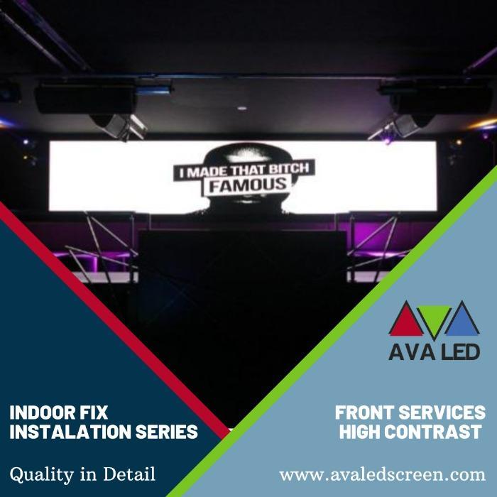 LED obrazovky pro kluby - Displeje AVA LED Mini Pixel Led