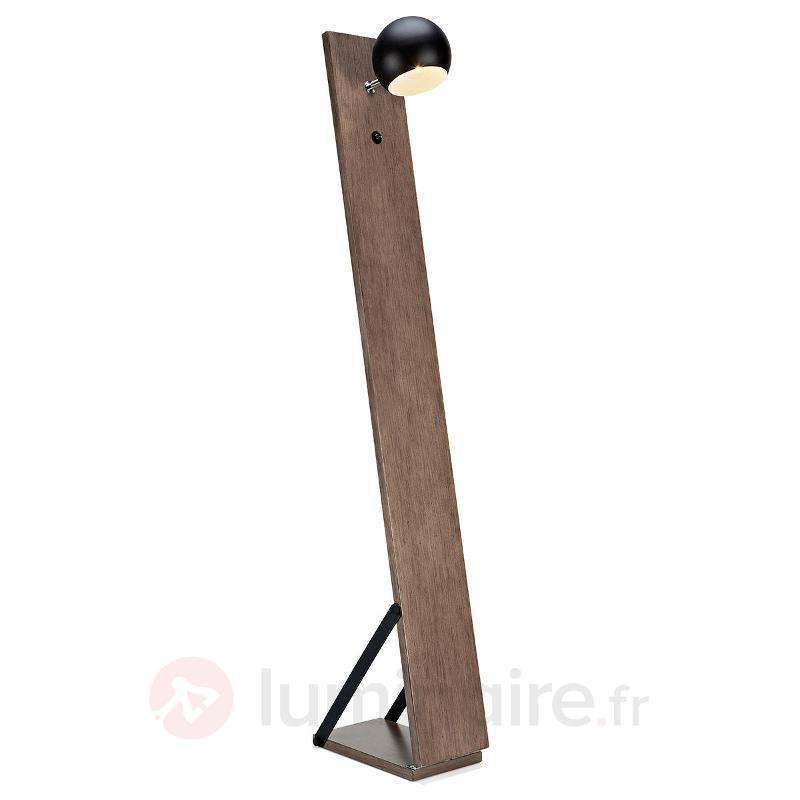 Lampadaire LED Fletcher original - Lampadaires en bois