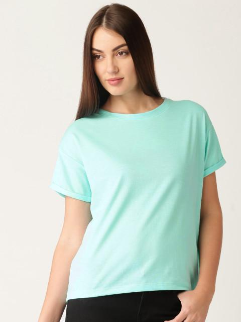 Women's Plain T Shirts