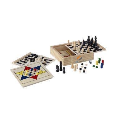 WoodGame 5-en-1 jeu - LOISIRS