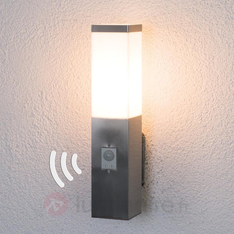 Applique Lorian avec détecteur de mouvement - Appliques d'extérieur avec détecteur