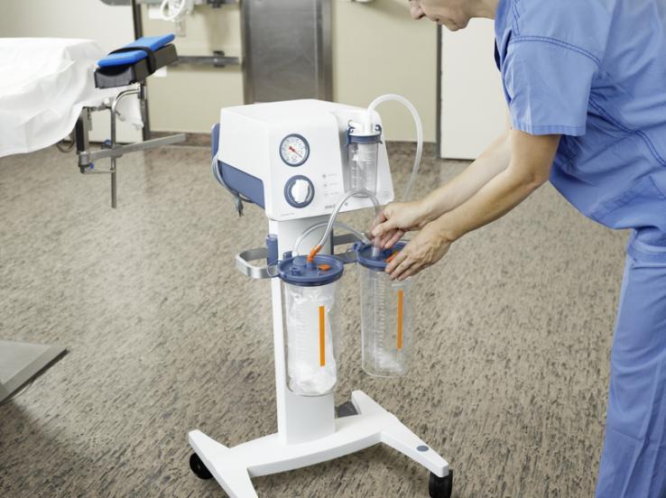 DCS (sistema de recogida desechable) de Medela - Una recogida y eliminación sencillas de los fluidos aspirados