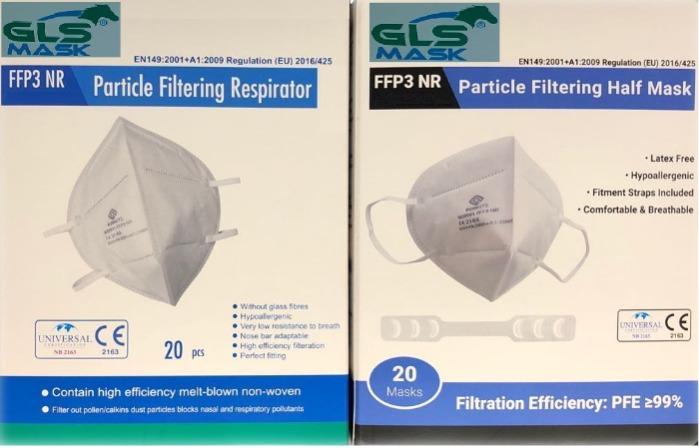 FFP2  Filtreli ventilli renkli maskeler  - FFP2  FFP3   Filtreli ventilli renkli maskeler  CE  ISO  sertifikalı