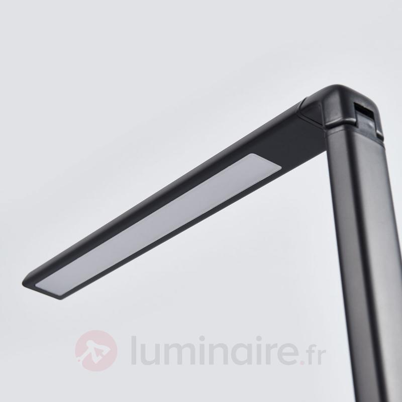 Lampe de bureau LED Kuno avec port USB - Lampes de bureau LED