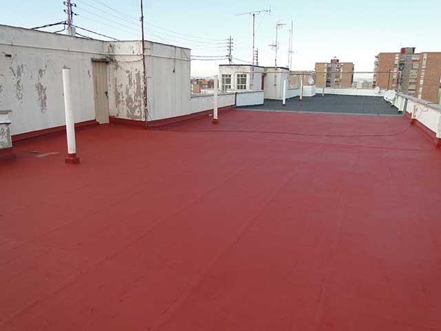 Impermeabilización de terrazas antiguas