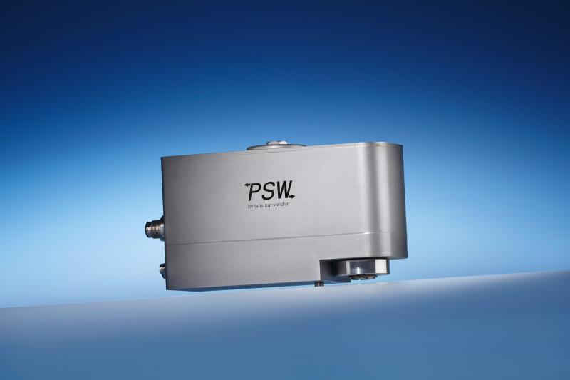 Positionierantrieb PSW 30_/32_-14 - Positioniersystem PSW 30_/32_-14 mit IP 68 zur automatischen Formatverstellung