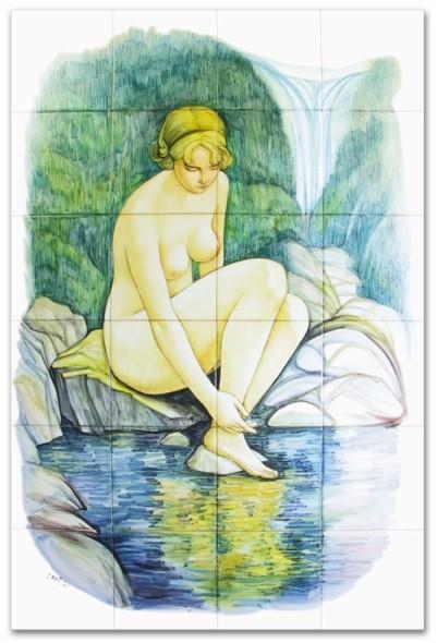 I Pannelli - Pannelli artistici - Laghetto