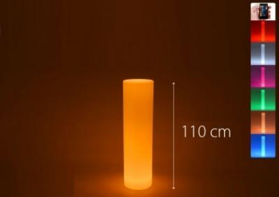 Location de colonne ronde lumineuse - null