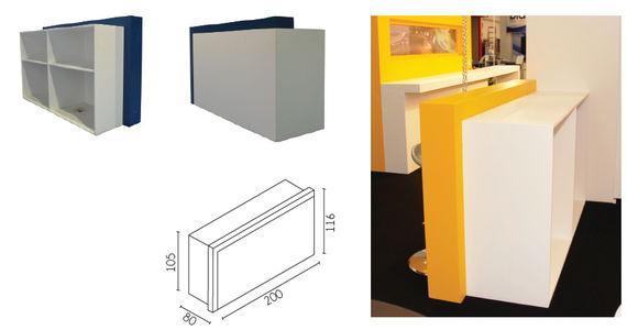 Information desks - For stands or showrooms