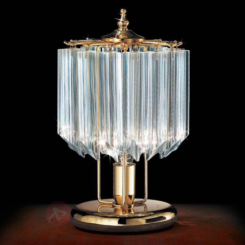 Lampe à poser dorée CRISTALLI - Lampes de chevet