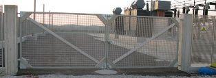 Cancello in vetroresina -