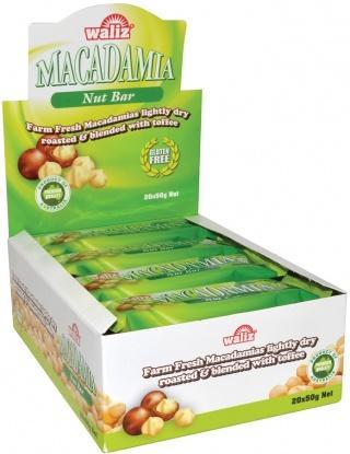 Macadamia Crunch Bar - Macadamia Nuts in crunchy caramel. Made in Australia