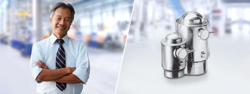 Präzisions-Drucklast-Wägezelle PR 6201 - Wägezellen