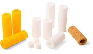 FOAM ROLLERS (drilled) - Foam Cut to Size