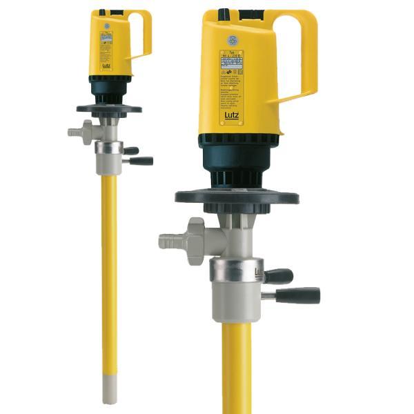 Drum pump for complete drum drainage PP with motor MI-4 - Drum Pumps