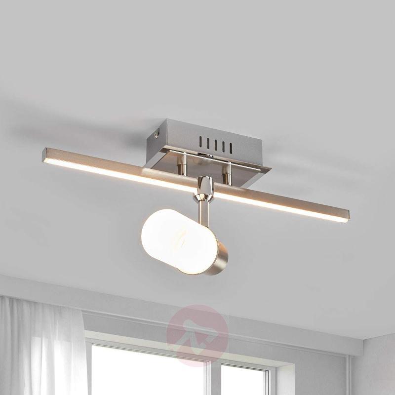Two-bulb Marcelina LED ceiling light - Ceiling Lights