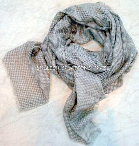 Polyester lurex woven scarves - Polyester lurex woven scarves