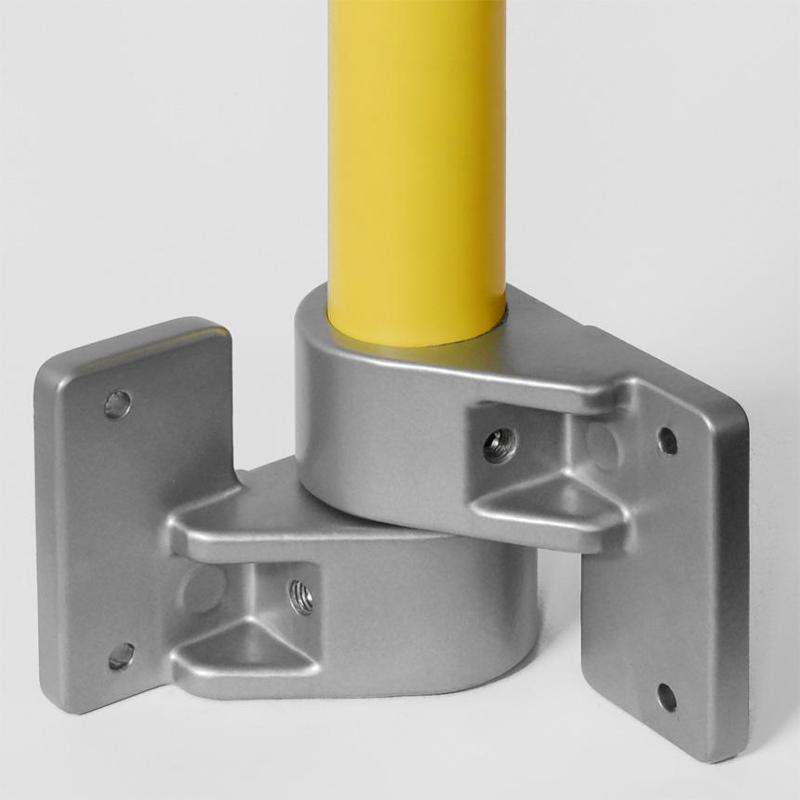 Universal tube connectors - Corner Tube Bracket, flexible Nr. 1155