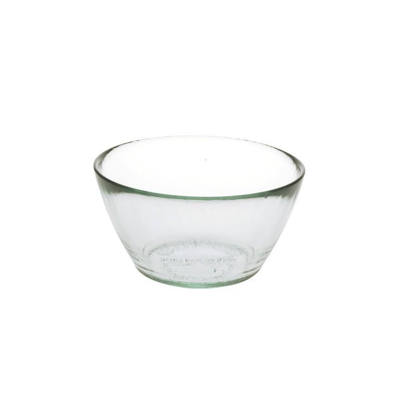 Set de 2 bols ou coupelles en verre recyclé