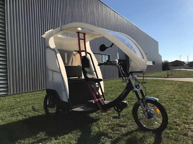 Elektro Fahrradtaxi Rikscha