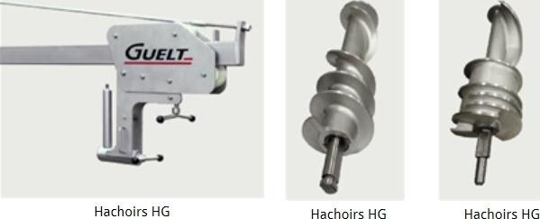 Haktoestellen: HG 1200 - Vermaalmachines
